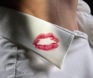 collar, kiss, and vintage image