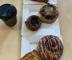 aesthetic, croissant, and food image