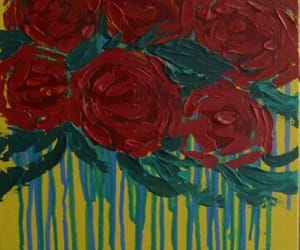 art for sale, original art, and gothic roses image