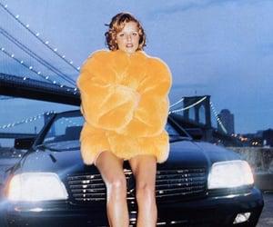 chic, fur coat, and magazine photoshoot image
