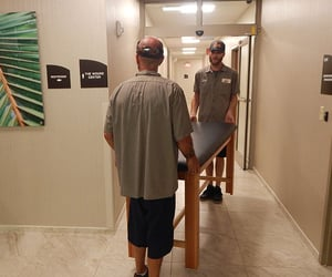 movers, pool table moveing, and packers image