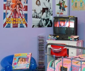 2000s, bedroom, and old school image