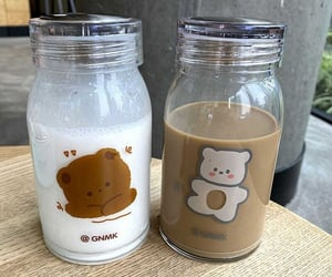 brown, coffee, and drinks image