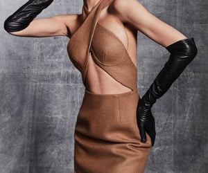 fashion, gloves, and leather image