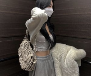 black hair, fashion, and sporty image