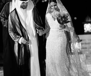 arab, couple, and happy image