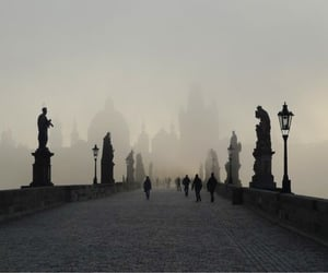 prague, charles bridge, and czech image