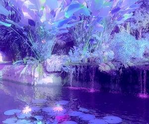 aesthetic, fantasy, and vaporwave image