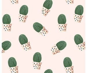 art, cactus, and pattern image