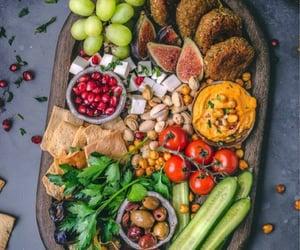 falafel, vegan, and healthy image