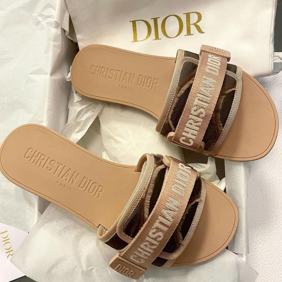 beige, Nude, and diorshoes image