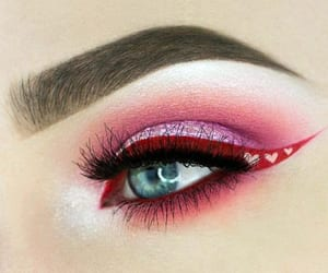 eye, eye makeup, and makeup ideas image