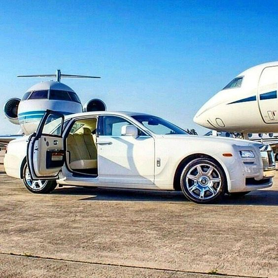 car, jets, and luxury image