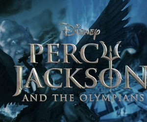 disney, percy jackson, and rick riordan image