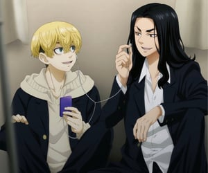 anime, tokyo revengers, and manga image