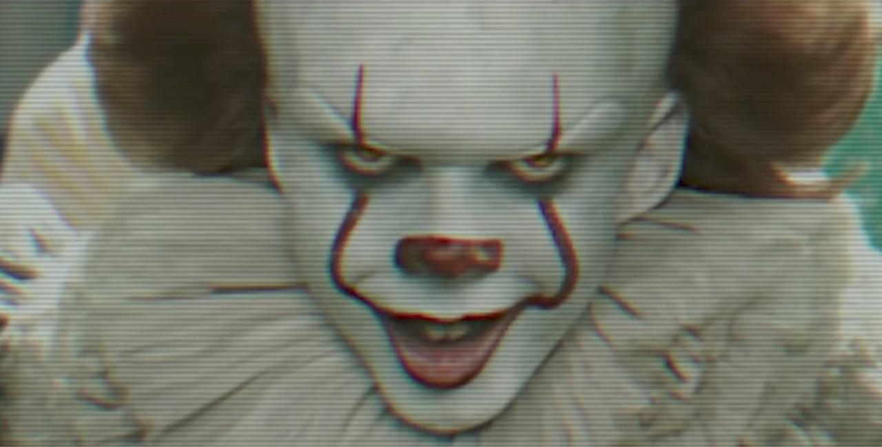 clown, creepy, and film image