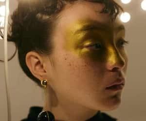 art, gold, and fashion image