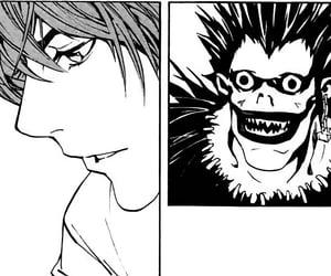 death note, manga, and light yagami image