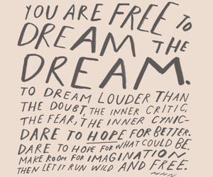 Dream, hope, and imagination image