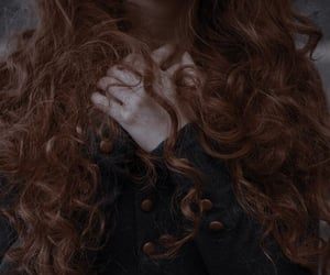 hair, aesthetic, and ginger image