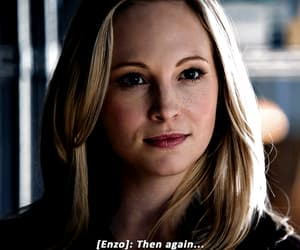 gif, caroline forbes, and the vampire diaries image