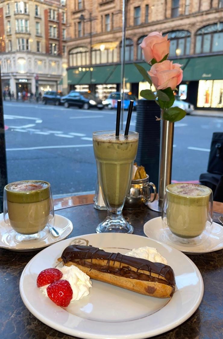cafe, dessert, and food image