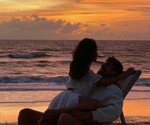 beach, romance, and romantic image