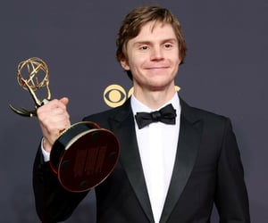 emmys, evan peters, and mare of easttown image