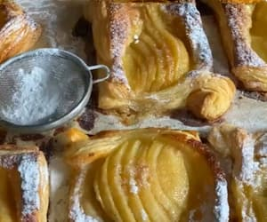 autumn, baking, and delicious image