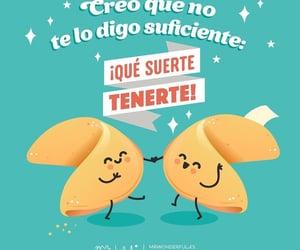 amigos, frases español, and feliz image