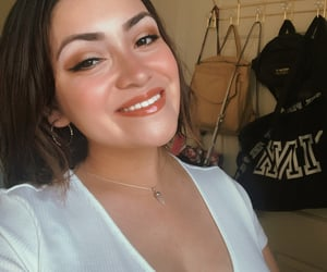 glossy, smile, and hoops image