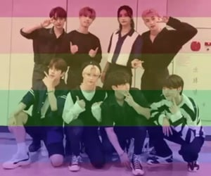 gay kids, skz, and 🏳 image
