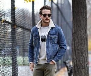 jacket, men fashion, and men jacket image