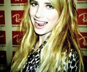 blonde, emma roberts, and scream queens image