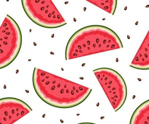 background, watermelon, and pattern image
