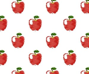 apple, pattern, and background image