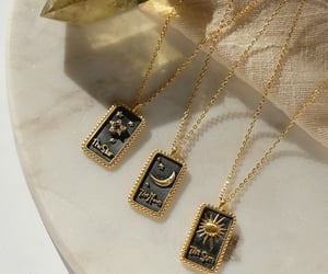 bijoux, bling, and celestial image