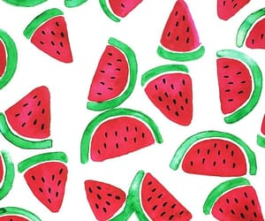 art, watermelon, and background image