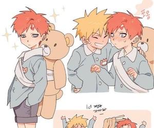 anime, naruto, and school boys image