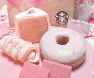 aesthetic, donuts, and lunch image