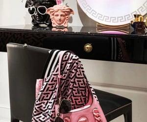 aesthetic, Versace, and girl image