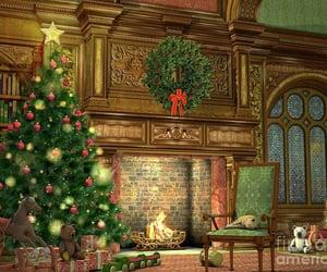 christmas tree, christmas toys, and christmas decorations image