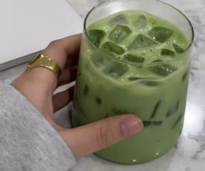 drink and matcha image