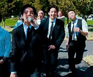 jungkook, namjoon, and taehyung image