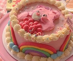 baking, food, and rainbow image
