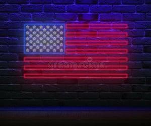 america, stars, and blue image