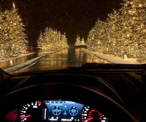car, road, and winter image