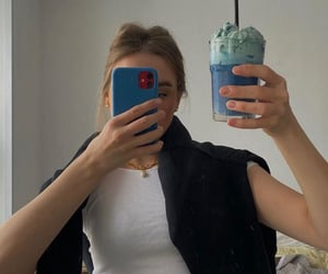 beverage, clothes, and outfit image