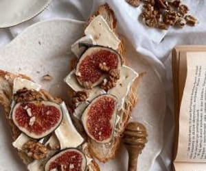 food, croissant, and fig image