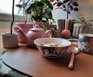 bowl, home, and morning image